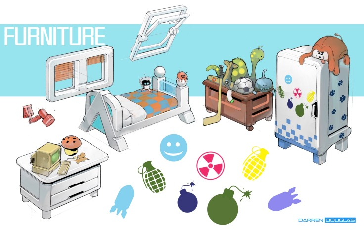room objects 01