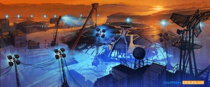 Arctic UFO recovery