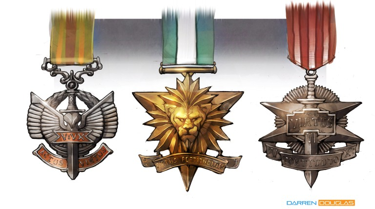 Bravery medals 01