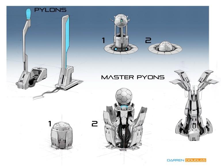 pylons 01