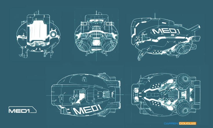 robot medbot elevations C
