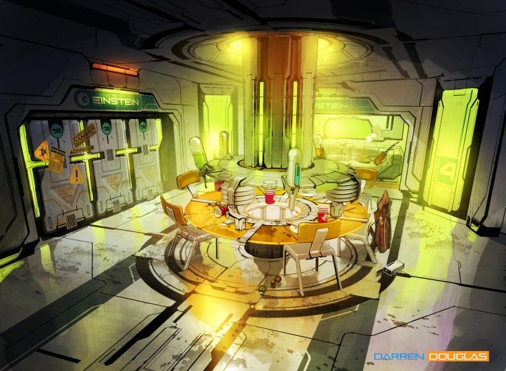 humanised room kitchen