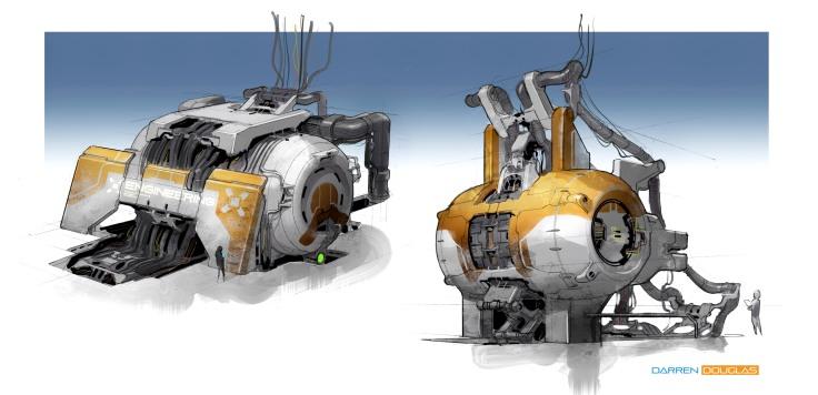 rotary pumping machine 01